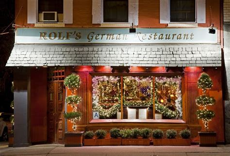 rolf s german restaurant nyc this nyc restaurant puts up 60 000 worth of christmas