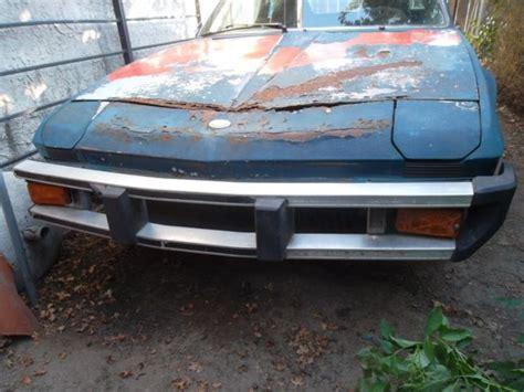 fiat x19 wheels fiat x19 x 19 bertone 1976 car for parts