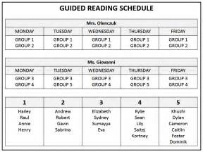Guided Reading Schedule Template guided reading groups lesson plan template search results calendar 2015