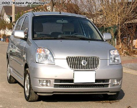 Kia Morning Car 2004 Kia Morning For Sale 1000cc Gasoline Ff