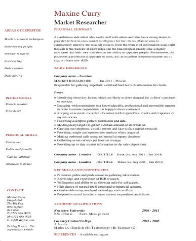 skills in resume for marketing 28 images marketing