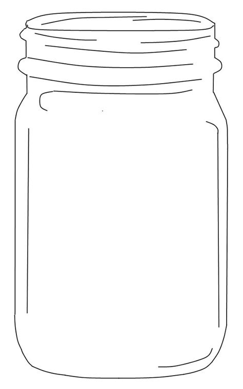 jar cut out template free jar clip an element for use in the