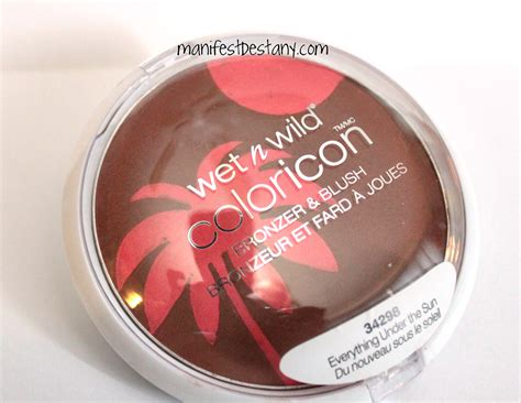 Everythings Bronzer In by N Coloricon Everything The Sun Bronzer