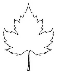 Outline Drawing Of A Leaf by Leaf Outline Sycamore Leaf Pattern Use The Printable Outline For Crafts Clipart Wikiclipart