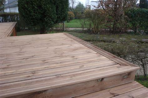 terrasse en bois terrasse bois 224 mont aignan 76130 gt djsl bois