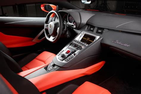 Inside Lamborghini Aventador 2012 Lamborghini Aventador Style