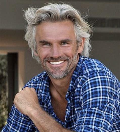 hot haircut for 50 year old men best 25 silver hair men ideas on pinterest silver hair