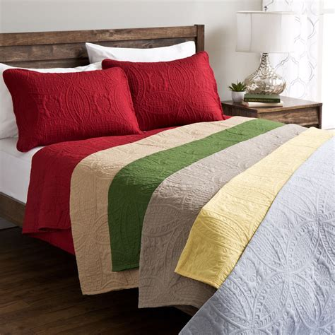 Buying Guide To Quilts Coverlets by Fashion Solid Quilt Set Ebay