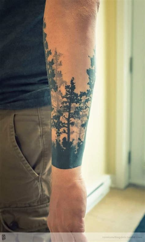 forest tree tattoo tree tattoos for ideas and designs for guys