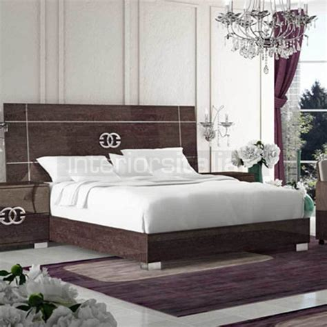 italian bedroom set modern italian bedroom set prestige umber birch