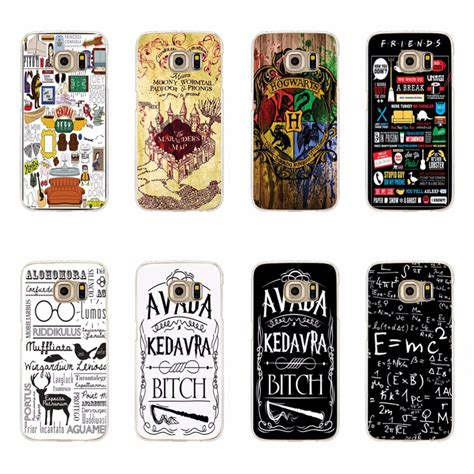 Harry Potter For Samsung S3 S4 S5 S6 S7 S Series aliexpress buy avada kedavra harry potter friend cases for samsung galaxy s3 s4 s5 mini s6