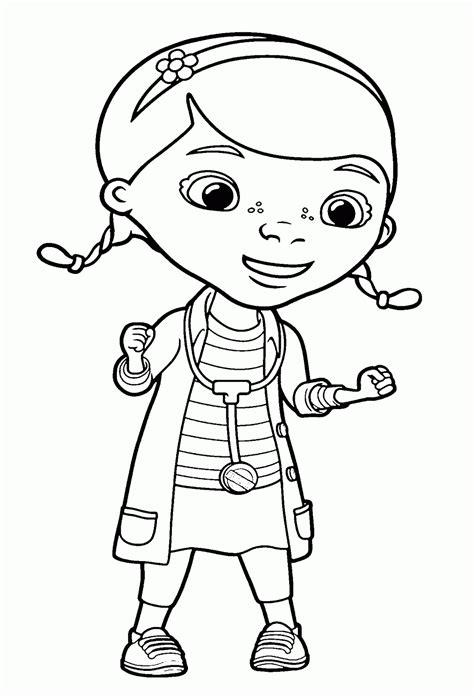 imagenes para colorear la doctora juguetes dibujos de la doctora juguetes para colorear pintar e