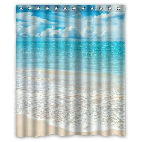 shower curtains ocean theme 17 best ideas about beach shower curtains on pinterest