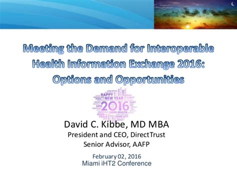 Mba Issues Conference Miami by 2016 Iht2 Miami Health It Summit
