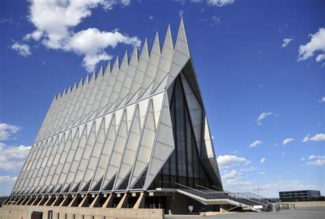 great american architects air force academy chapel colorado springs famous