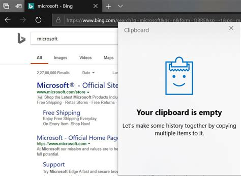 How the Cloud Clipboard feature works in Windows 10 ... Access To Clipboard Denied Windows 10
