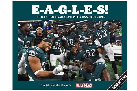 philadelphia inquirer travel section relive the philadelphia eagles super bowl winning season