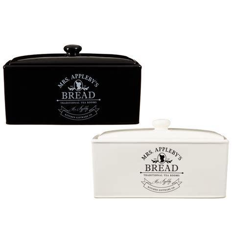 Mrs Appleby's Bread Bin   Tableware   B&M