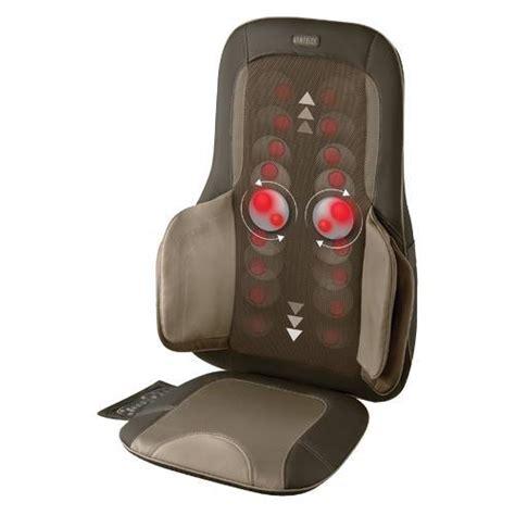 homedics chair pad with heat homedics mcs 775h shiatsu and air compression