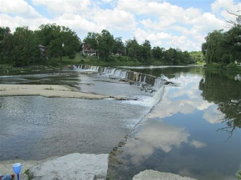 thames river canada thames river and falls picture of st marys ontario