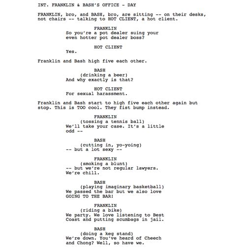 how do you write a tv show in a paper decided to write a a spec script for franklin and tv
