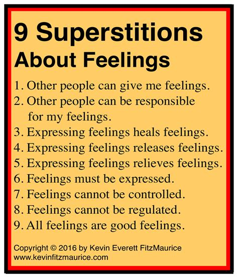 common superstitions 7 common superstitions of therapists about feelings