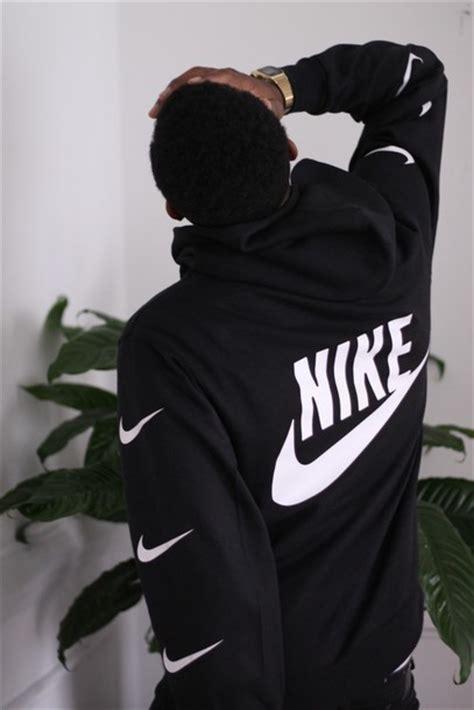 jacket nike sweater black sweater sweater nike swoosh black hoodie white