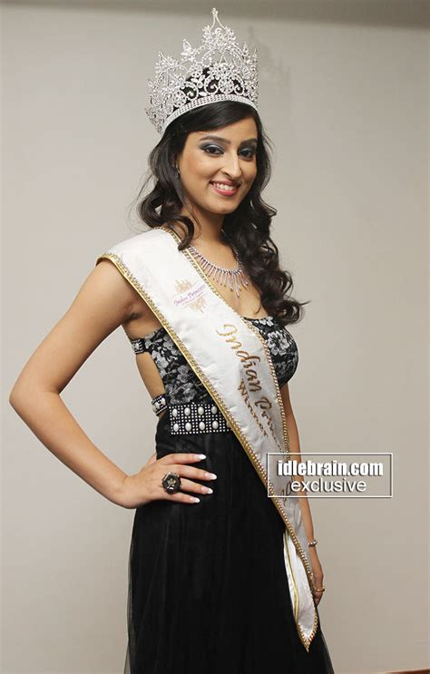 india winner 2014 indian princess winner 2014 chandni sharma at hyderabad