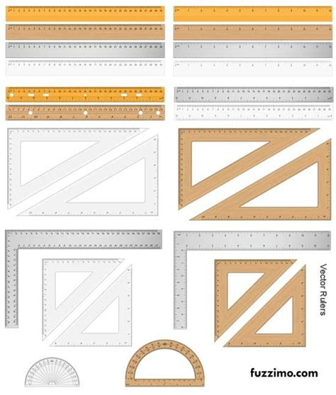 Printable Ruler Psd   free vector ruler triangle protractor print me for