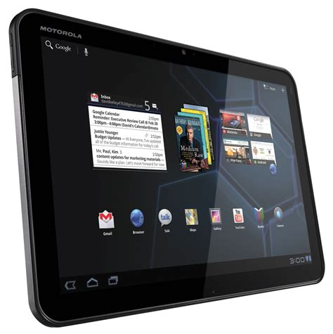 Tablet Wifi motorola xoom 10 1 inch android tablet 1gb ram 32gb memory wi fi android 3 0 up to 10hrs