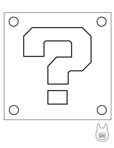 mario question block coloring page 26 images of super mario coin template eucotech com