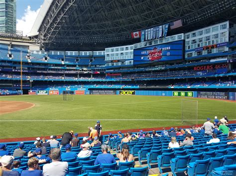 section 20 a rogers centre section 113a toronto blue jays