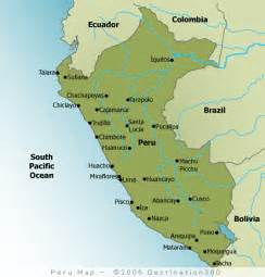 map of peru south america sylvie guillems
