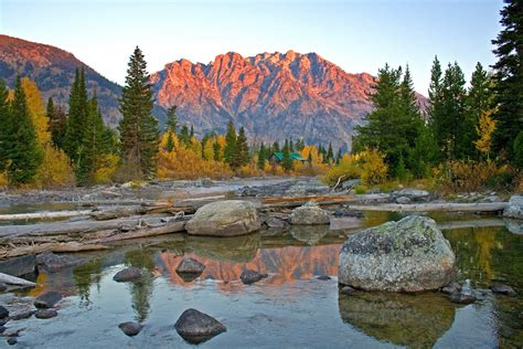 grand teton national park wyoming united states mountain