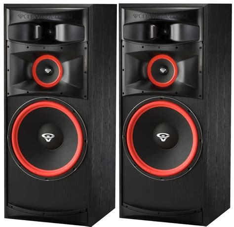 10 woofer three way floor standing speakers pair set cerwin xls 15 15 quot 3 way floorstanding tower