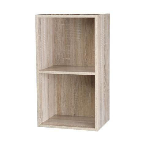 tier wooden bookcase shelf storage unit bookshelf