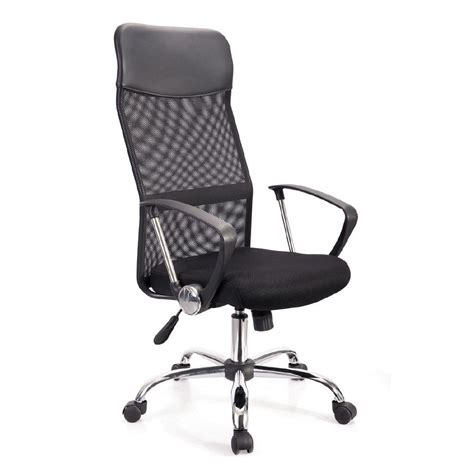 high office chair nz living co office mesh high back chair the warehouse