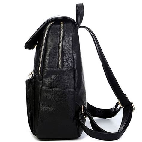 Backpack Fashion Bee designer simple style backpack fashion pu leather
