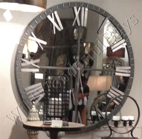 25 best ideas about mirror wall clock on pinterest big wall mirrors large decorative wall