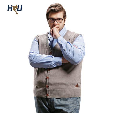 Cardigan Olis Vest 1 H United Plus Size Sweater Vest Mens Big V Neck 100