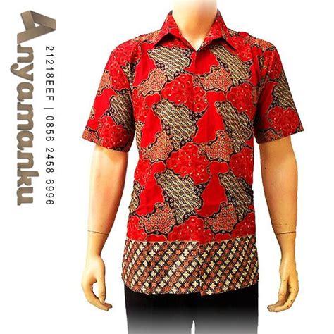 415 Marun Kemeja Batik M Xl Lengan Panjang Seragam kemeja batik panjang bp2303 harga 84 rb ukuran s m l dan xl ket kemeja batik
