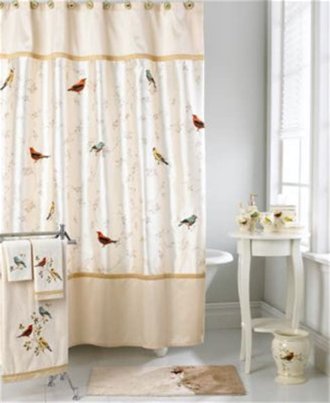 bird shower curtains home improvement style