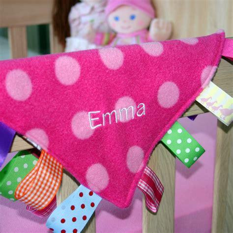 Handmade Taggies - baby taggie blanket arty apple handmade crafts