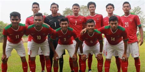 pemain indonesia inilah susunan pemain timnas u 19 indonesia vs myanmar