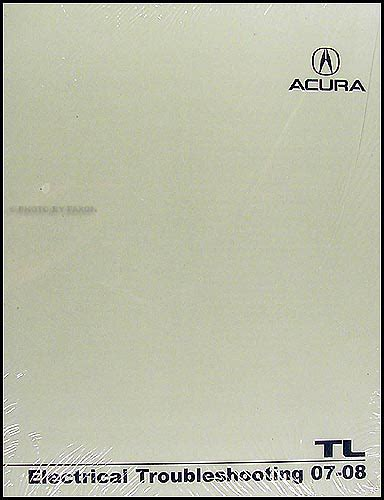 hayes car manuals 2008 acura tl user handbook 2007 2008 acura tl electrical troubleshooting manual original