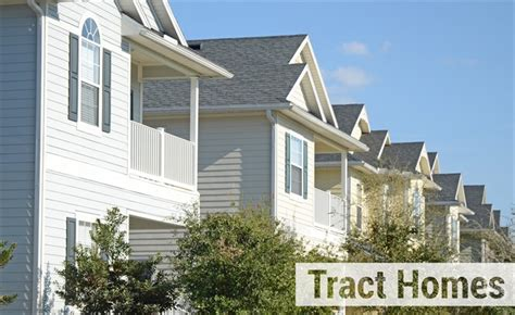tract home new home construction series the third way to buy a new