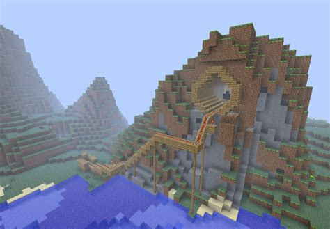 minecraft mountain house designs my mountain house minecraft project