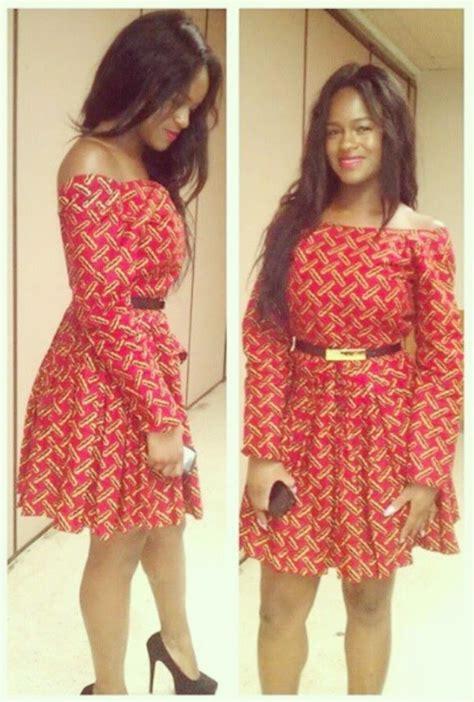 latest simple ankara styles african dresses ankara short gown style dezango fashion zone