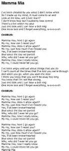 testo mamma mamma lyrics mamma broadway