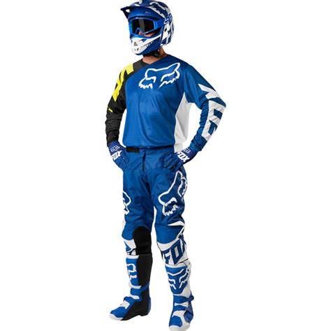 cing gear 2018 fox racing 180 race gear kit blue sixstar racing